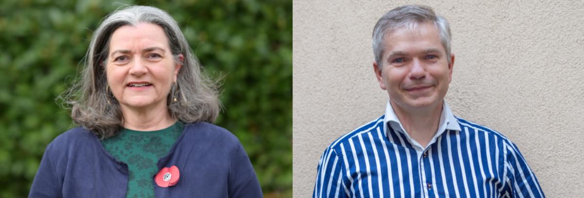 Catherine Libeaut et Pierre Lavéant